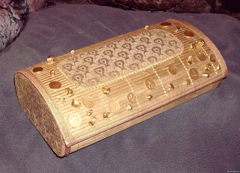 Шкатулки из бамбуковых салфеток Страна Мастеров 56