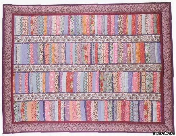 лоскутное вязаное покрывало схемы