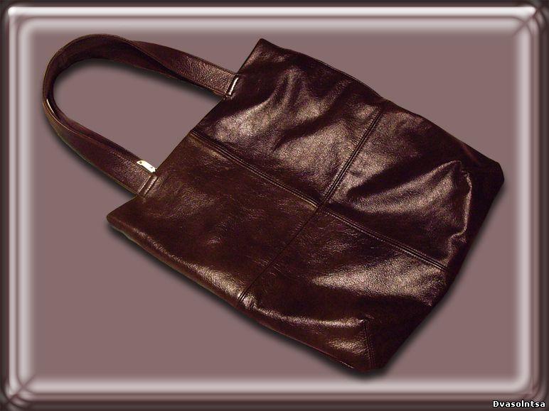 как сшить самой себе сумку просто.