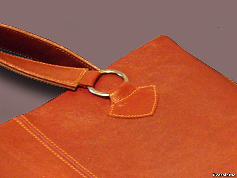 Описание: Как сшить сумку из кожи и уроки по.